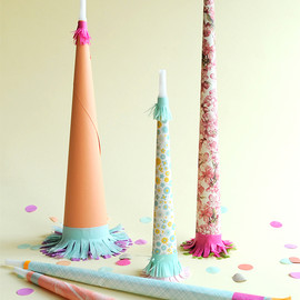 Oh Happy Day! - Pretty Paper Party Horns