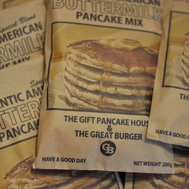 THE GREAT BURGER - AUTHENTIC AMERICAN BUTTERMILK PANCAKE MIX