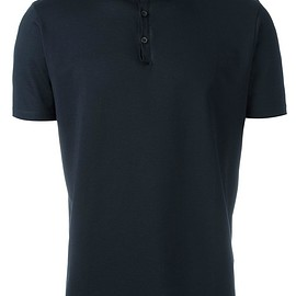 Lanvin - contrast collar polo shirt