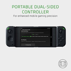 Razer - Junglecat Dual-Sided Mobile Game Controller for Android