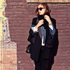 the glamour - outer/shirt/G-jean