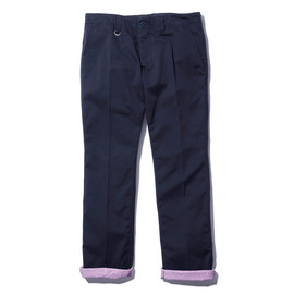 SOPHNET. - STRAIGHT PANT (COTTON STRIPE)