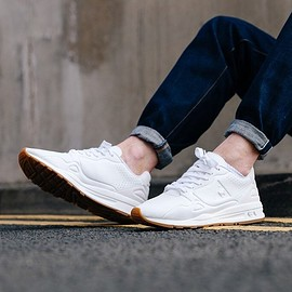 le coq sportif - LCS R9XX Optical White Lea Trainers