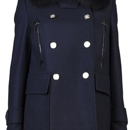 Altuzarra - Charles Car Coat in Blue