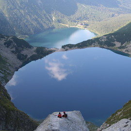 Poland - Morskie Oko and Czarny Staw, Tatra Mountains