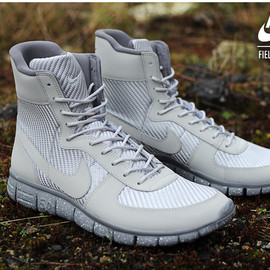 Nike - Field General Free - Grey/Speckled Sole
