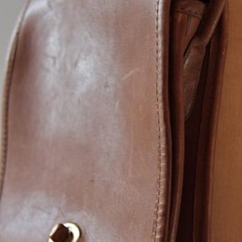 COACH - Vintage Leather Coach Bag Design