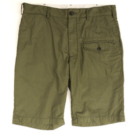 Engineered Garments - Ghurka Short,Olive Cotton Poplin