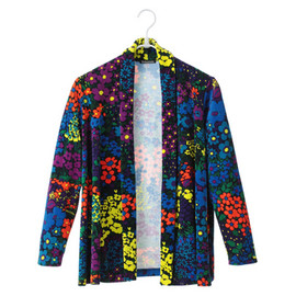 BOHEMIANS - Flower Velour Cardigan