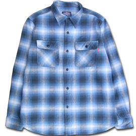 HEADGOONIE - HEADGOONIExRIDICULE KATATSUMURI FLANNEL SHIRTS