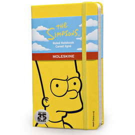 Moleskine - The Simpsons Notebook - Yellow