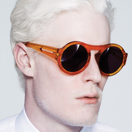 KAREN WALKER - Bunny Crystal Orange
