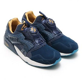 PUMA - ATMOS × PUMA DISC BLAZE VINUS DRESS BLUES