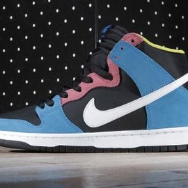 NIKE SB - NIKE SB DUNK HIGH PRO BLUE HERO/WHITE-BLACK