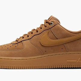 NIKE - Air Force 1 Low - Flax/Gum Light Brown/Black/Wheat