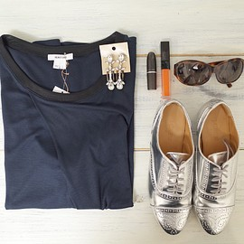 HELMUT LANG, J.CREW - outfit!