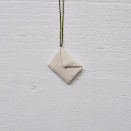 Kanae Entani - letter for you necklace