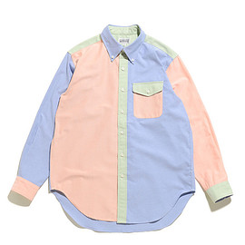 WORKADAY - BD Shirt Combo-Royal CP Oxford-Lime