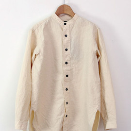 GARMENT REPRODUCTION OF WORKERS - GARCONS SHIRT OPEN beige