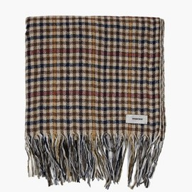 Undercover - Beige Check Scarf