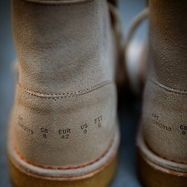 Clarks Originals × BEAMS - Desert Boots Inside Out