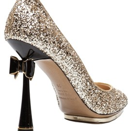 Leda leather pumps