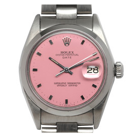 ROLEX - Stainless Steel Oyster Perpetual Date with Custom Dial