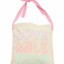 MILKFED. - ECO BAG LOVE NEON