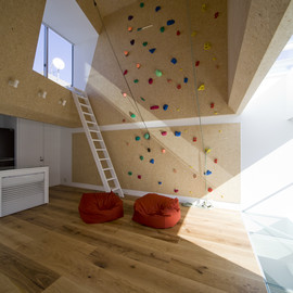 BE-FUN DESIGN (Y STUDIO) + EANA  - Outdoor House with Climbing Wall
