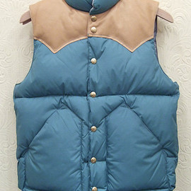 Rocky Mountain Featherbed - Down Vest Sax