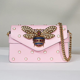 Gucci - Gucci Broadway Bee Shoulder Bag