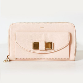 Chloe - Lily long wallet・bliss pink