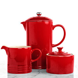 Le Creuset - French Press with Creamer & Sugar Bowl