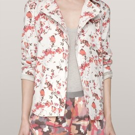 Thakoon Addition - Floral-print wrap jacket