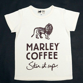 Marley Coffee - Tシャツ(キッズ 生成り)