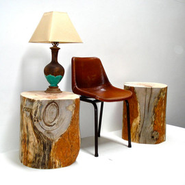 Reclaimed Timber Side Tables