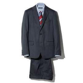SOPHNET. - 2 BUTTON SUIT (SUMMER WOOL)