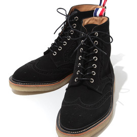 THOM BROWNE - Wintip Brogue w/Crepe Sole