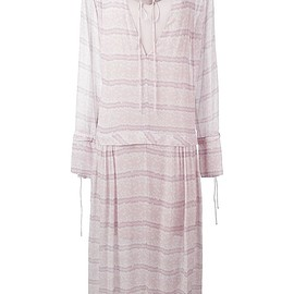 See By Chloé - striped long peasant dress