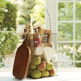 Pottery Barn - Wire Bag Basket