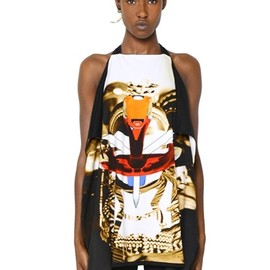GIVENCHY - COTTON JERSEY PANELED TANK TOP