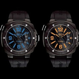 Seastrong Horological Smartwatch - Black/Red