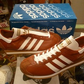 "adidas - 「<deadstock>'98 adidas COUNTRY brown/white""made in JAPAN"" W/BOX size:25.5cm 14800yen」完売"