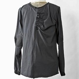 SIVA - INW-CAS / ALTERNATE HENRY NECK LONG SLEEVE TEE