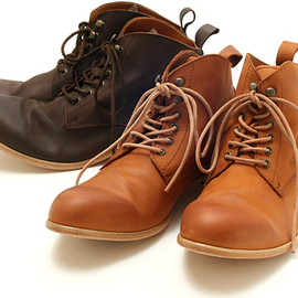 PADRONE - leather chukka boots