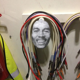 Cable storage - with Bob Marley