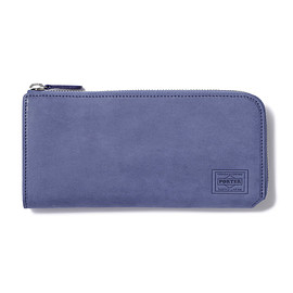 "HEAD PORTER - ""ORCIA"" WALLET (L) BLUE"