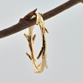 colbyjune - Gold Twig Ring