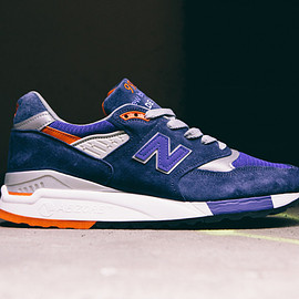 "New Balance - New Balance Made In USA M998CSAL ""Navy/Deep Blue"""