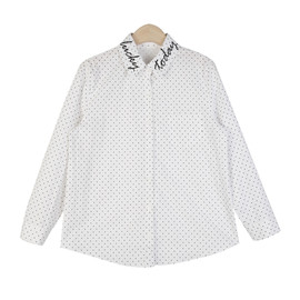 LUCKY Embroidered Simple Shirt